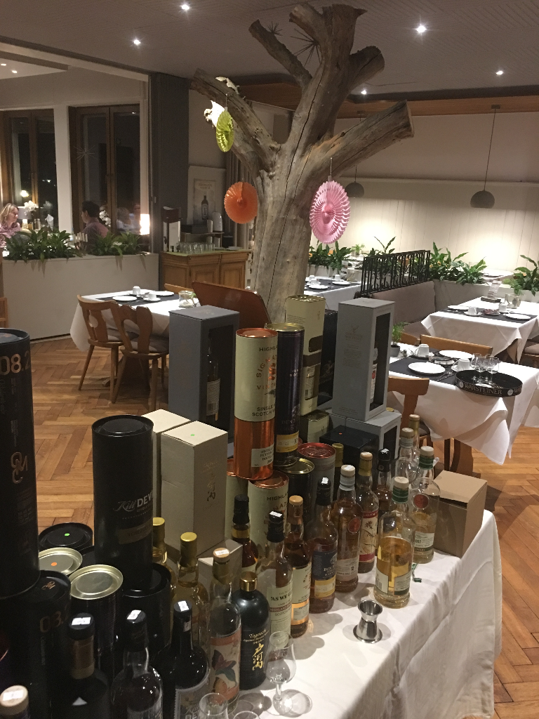 Whisky Degustation